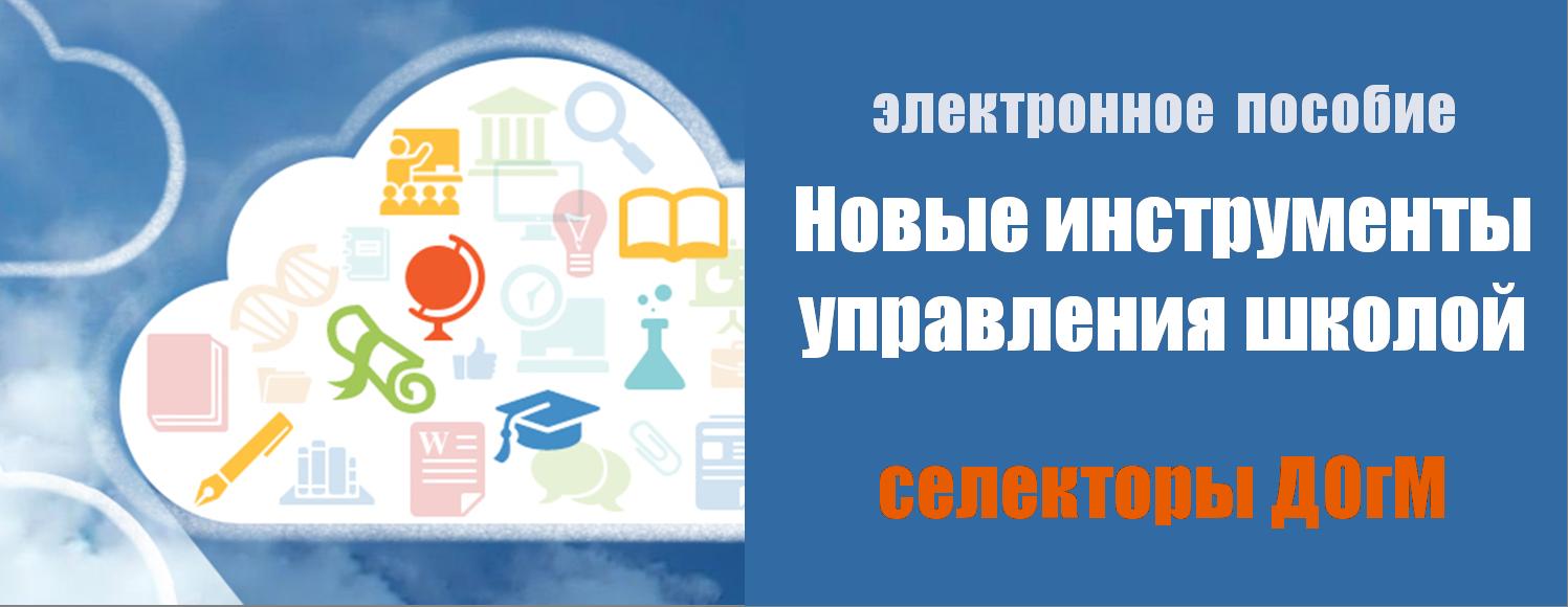 Новые инструменты управления школой. Селекторы ДОгМ